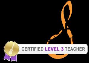 James Hill Ukulele Initiative Level 3 seal